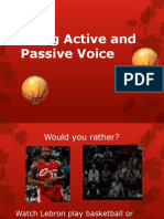 Active and Passive Voice PP