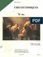 Callier - 24 lectures rythmiques 1/1