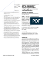 Intense and recurrent déjà vu experiences related to amantadine and phenylpropanolamine in a healthy male
