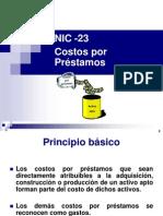 NIC 23 Actualizada 2008
