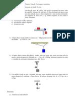 Terceira Lista de Exercícios de Física Básica Ia