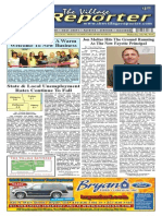 The Village Reporter - July 9th, 2014