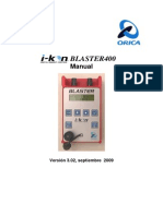 4 Blaster 400 Manual Version 3.02 September 2009