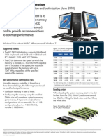 HP Z400 Workstation Memory Configuration and Optimization