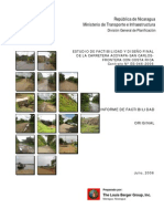 Estudio de Factibilidad y Dise_o Final de La Carretera Acoyapa - San Carlos - Frontera Con Costa Rica (Informe de Factibilidad)