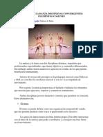 La Música y La Danza Disciplinas Convergentes
