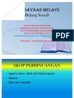 47508040 Kebudayaan Melayu Bidang Sosial