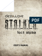 Stalker Lost Alpha Manual