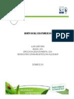 Decreto 3930 de 2010 Vertimientos