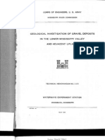 Geology of the Gravel Deposits of the Lower Mississippi River Valley (Text)