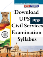 Upsc Civil Services Syllabus Pdf