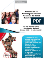 Gestion Salud Bucal 2008-2011