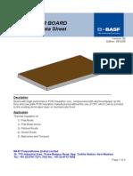 Elastopor (PUR) Board
