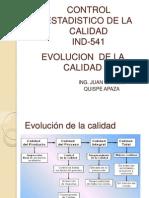 2. Evolucion Calidad