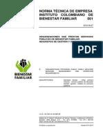 Norma Tècnica de Empresa - Icbf