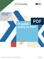 Preparing for University - Year 10 Guide 2017