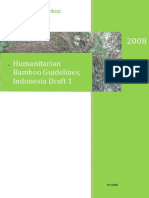 Humanitarian Bamboo Guidelines