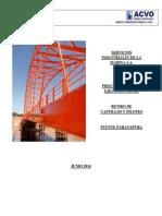 Procedimiento de Retiro de Castillos y Pilotes Del Puente Paranapura