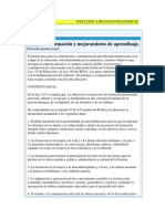 UNIDAD 3-Formación y Mejoramiento de Aprendizaje
