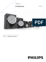Mini Hi-Fi System Hi-Fi 4.2 Com Subwoofer - Philip