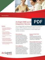 ArcSight ServicesBrief McAfee HIPS