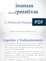 2. Politica de Financiamiento