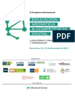 Actas Definitivas Congreso Edumed 2013