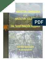 De La Agricultura Convencional a La Ecológicapdf