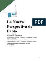 La Nueva Perspectiva de Pablo - Michael B. Thompson
