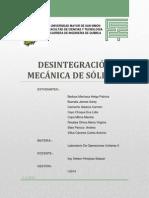 Desintegracion Mecanica de Solidos Teoria