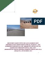 Resumen Ejecutivo Segunda Audiencia Publica 2011