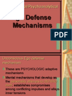 Ego Defense Mechanism