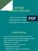 Sistema Kardiovaskular power point University of Airlangga