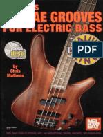 Chris Matheos - Reggae Grooves for Bass