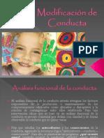 Tecnicas Conductuales SD