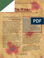 New World Bestiary - Hydra