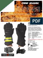 Carbon-X Fire Shark Glove