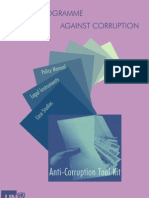 Toolkit for Anti-corruption