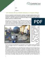 GVI Fiji Achievement Report April 2014 - Yasawas, GVI Delivers New WASH Intiative in Yaqeta