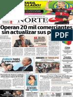 Periódico Norte edición del día 9 de julio de 2014