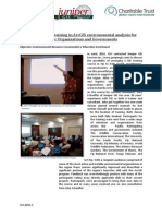 GVI Fiji Achievement Report May 2014-GVI Facilitates Training in Environmental Analysis for Pacific Conservation Organisations