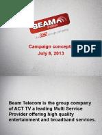 Beam Social Media campaign