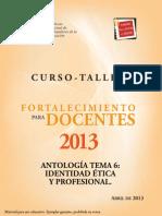 Tema 6 Antologia 2013
