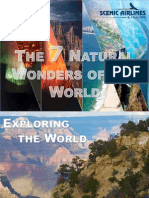 The 7 Natural Wonders of the World
