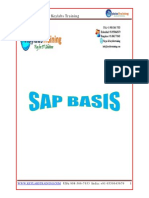 SAP BASIS Notes Keylabs Training