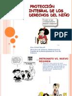 PROTECCIÓN INTEGRAL DE LOS DERECHOS DEL NIÑO