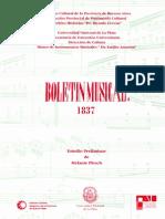 Boletín Musical