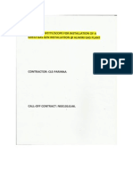 Gas Generator Installation document