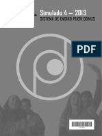 Pueri-Domus Simulado4 2013