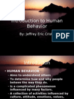 Introduction to Human Behavior
